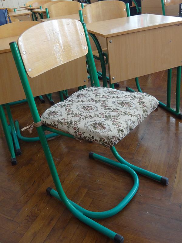 Чехлы на школьные стулья своими руками 638